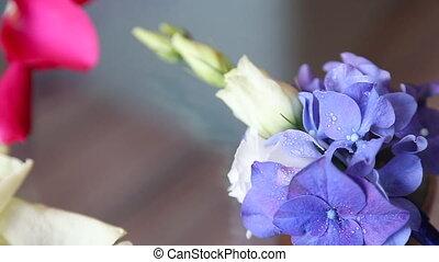 boutonniere flower - Pink rose boutonniere flower at wedding