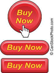 boutons, achat maintenant