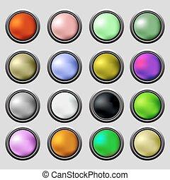 boutons, ensemble