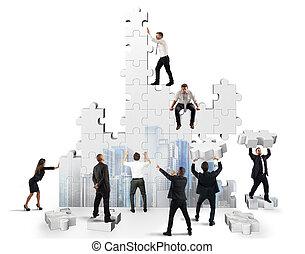 bouwen, de, zakelijk