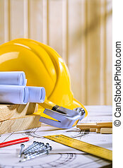 bouwschets, gereedschap, meubelmakerij