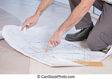 bouwschets, pulken pointing