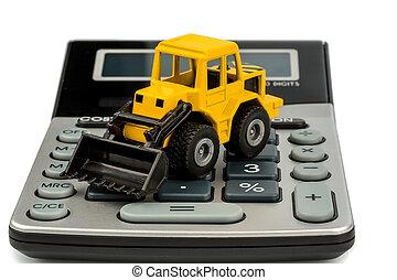 bouwsector, Boekhouding, Industrie, kosten