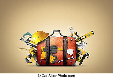 bouwsector, gereedschap