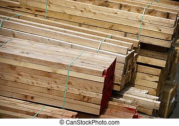 bouwsector, hout