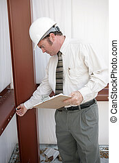 bouwsector, inspecteur, werken