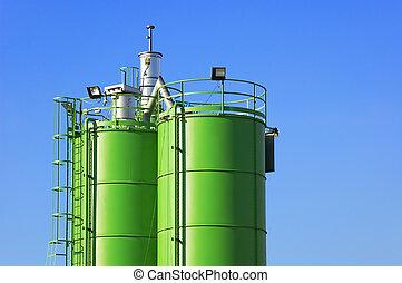 bouwsector, silos