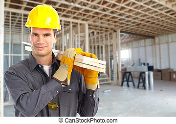 bouwsector, worker.