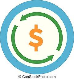 bouwterrein, web, witte , achtergrond., pictogram, ui., symbool., teken., overdracht, logo, geld, plat, jouw, style., ontwerp, app, bekeren, valuta