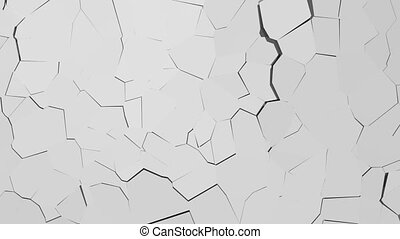 bouwvallig, concrete muur