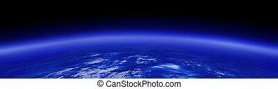 boven, de aarde