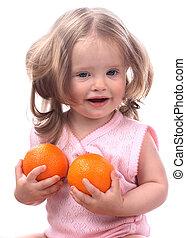 boven., fruit, blik, kind