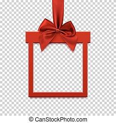 bow., 旗, 形態, リボン, 贈り物, 赤の広場