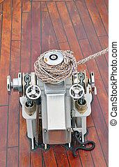 bow anchor winch