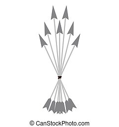 Bow arrows symbol