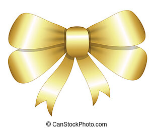 Bow - Christmas Vector Illustration