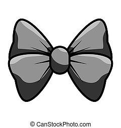 bow cute female icon