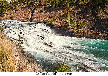 Bow Falls in Canada