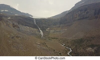 Bow Glacier Falls, Banff National Park, Alberta, Canada