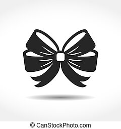 Bow Icon - Bow icon, vector eps10 illustration