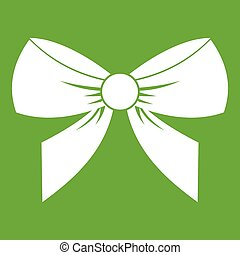 Bow icon green