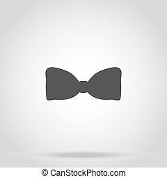 bow iconon white background