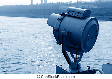 Bow of the searchlight