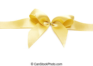 bow on white background