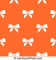 Bow pattern seamless