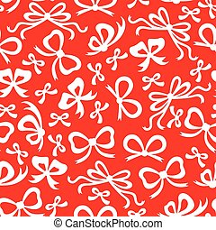 Bow pattern seamless