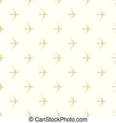 Bow pattern seamless vector