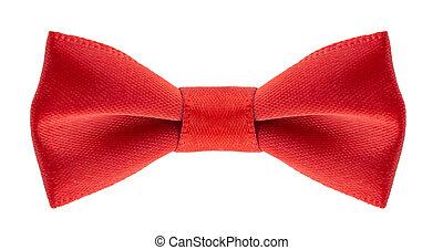 bow ribbon isolated on white background
