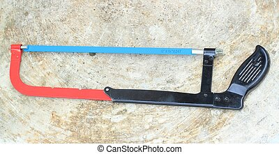 Bow saw or hand tools for sawing