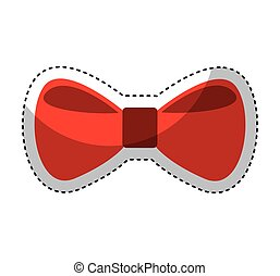 bow tie elegant icon