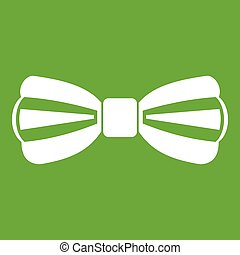 Bow tie icon green