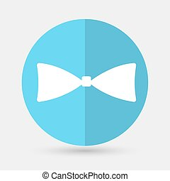 bow tie icon on a white background