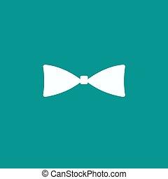 Bow tie, icon vector.