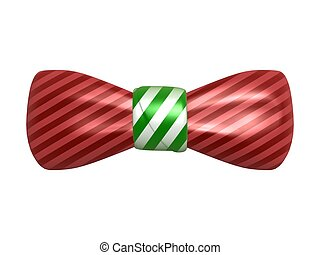 bow tie isolated on white background