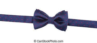 Bow tie on a white background
