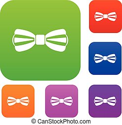 Bow tie set collection