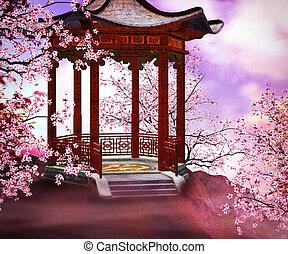 Bower Asian Backdrop