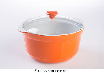 bowl. cooking ceramic bowl on white background.