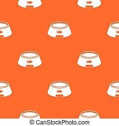 Bowl for animal pattern seamless