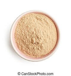 Bowl of baobab powder