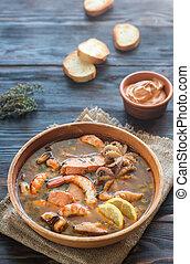 Bowl of Bouillabaisse