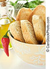 Bowl of bread