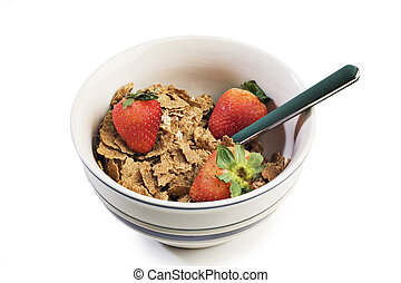 Bowl of breakfast cereal