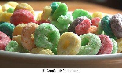 Bowl of Cereal, Grains, Breakfast
