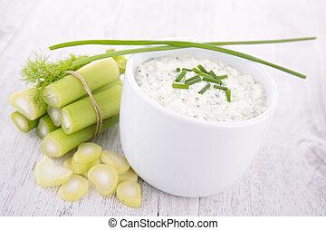 bowl of cream