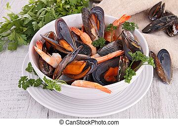bowl of crustacean